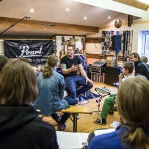 Drumworkshop mit Martin Klee vom Dezember 2014