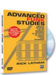DVD Rick Latham - Advanced Funk Studies