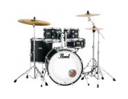 Pearl DMP925F Decade Mapel Drumset, Satin Slate Black