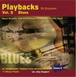 CD Playbacks für Drummer Vol. 5 - Blues