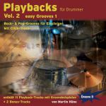 CD Playbacks für Drummer Vol. 2 - Easy Grooves 1