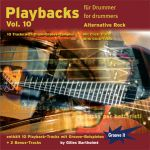 CD Playbacks für Drummer Vol. 10 - Alternative Rock