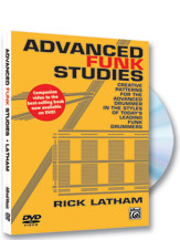 DVD Rick Latham - Advanced Funk Studies