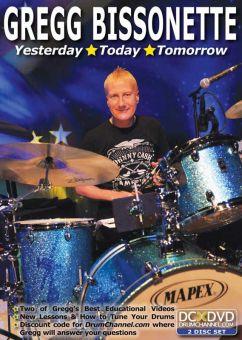 2DVD Gregg Bissonette - Yesterday Today Tomorrow