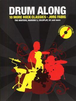 Drum Along 2 - 10 More Rock Classics mit CD