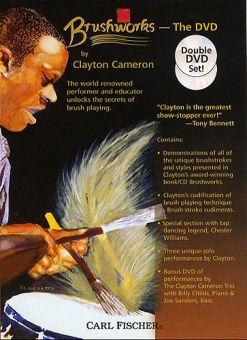 2DVD Clayton Cameron Brushworks