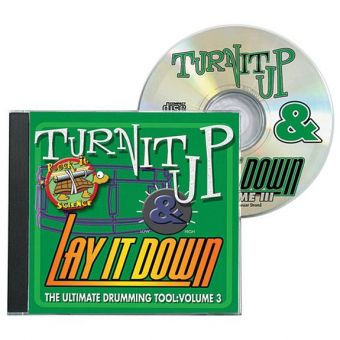 CD Turn it up & lay it down Vol. 3 - Rock-It Science