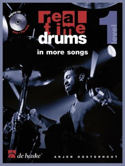 Real Time Drums in More Songs Level 1, Buch mit CD