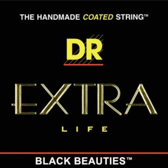 DR BKE-10 Black Beauties 10-46 Saiten Satz für E-Gitarre