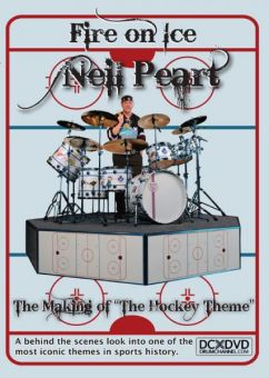 "DVD Neil Peart - Fire on Ice, The Making of ""The Hockey Them"