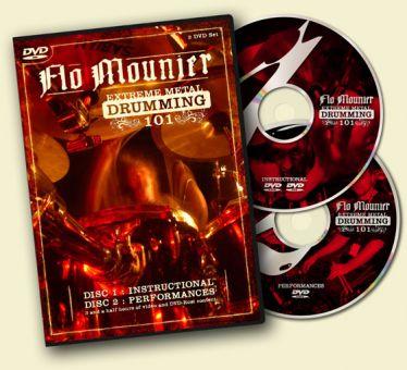 2DVD Flo Mounier Extreme Metal Drumming 101