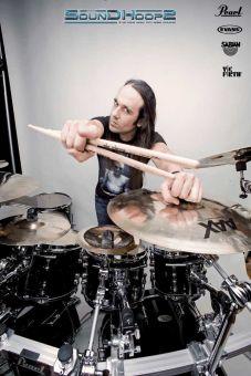 Drumworkshop mit George Kollias 08.03.2020