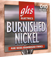 GHS BNR XL Burnished Nickel 9-42 Saiten Satz