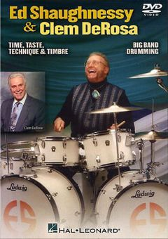 DVD Ed Shaughnessy And Clem De Rosa - Big Band Drumming