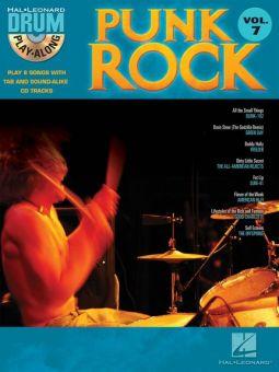 Drum Play-Along Volume 7 Punk Rock