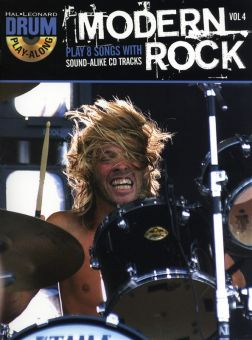Drum Play-Along Volume 4 Modern Rock