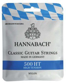 Hannabach 500 HT Saiten Satz blau, High Tesion