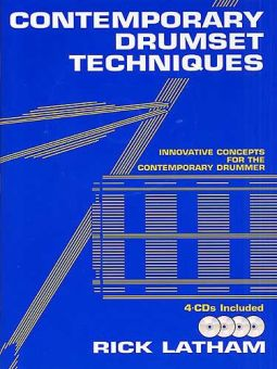 Rick Latham - Contemporary Drumset Techniques (Book/4CD)