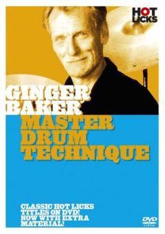 DVD Ginger Baker Master Drum Technique