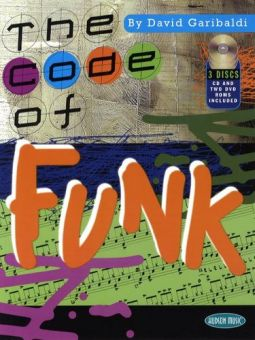David Garibaldi The Code Of Funk Buch mit CD