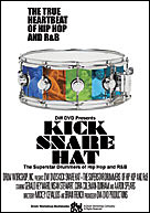 DVD Kick Snare Hat - The Superstar Drummers of Hip Hop