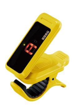 Korg Clip-On Tuner, gelb