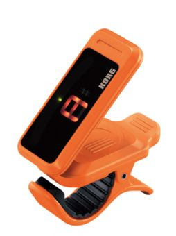 Korg Clip-On Tuner, orange