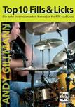 DVD Andy Gillman Top 10 - Fills & Licks