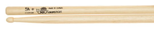 Los Cabos 5B Intense White Hickory Drumsticks