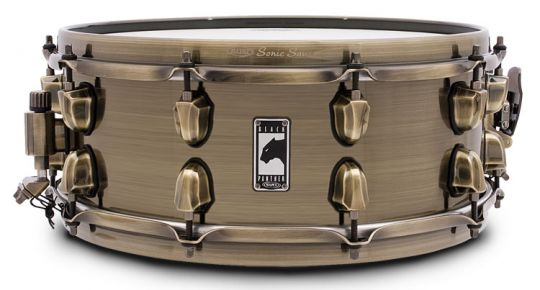 """Mapex 14"""" x 5,5"""" Black Panther Snare The Brass Cat"""
