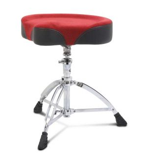Mapex Drum Hocker T765ASER, roter Sattel