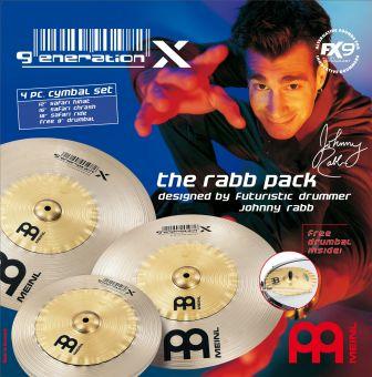 Meinl Generation X The Rabb Pack