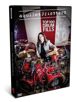 DVD Aquiles Priester Top 100 Drum Fills