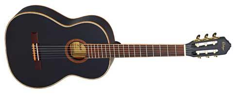 Ortega R221 BK Konzertgitarre, schwarz