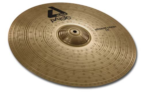 "Paiste 16"" Alpha Medium Natur Crash"