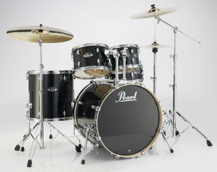 Pearl EXL725S Export Drumset, Black Smoke