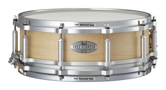 """Pearl 14"""" x 5"""" Free Floating Maple Snare Drum"""