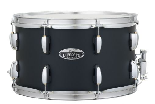 """Pearl 14"""" x 8"""" Modern Utility Snare, Black Ice"""