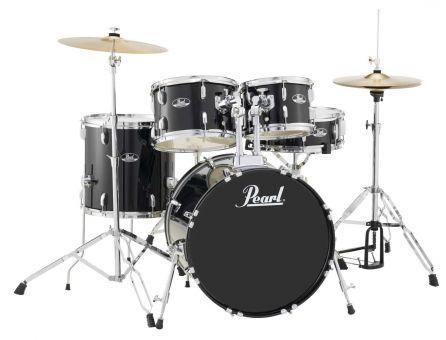 Pearl RS505C Roadshow Drumset, Jet Black