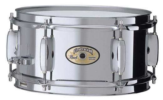 "Pearl 10"" x 5"" Firecracker Stahl Snare Drum"