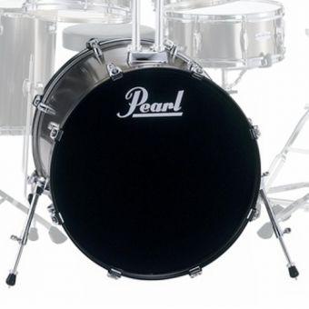 Pearl FZ 20 x 18 Bass Drum, Smoky Chrome