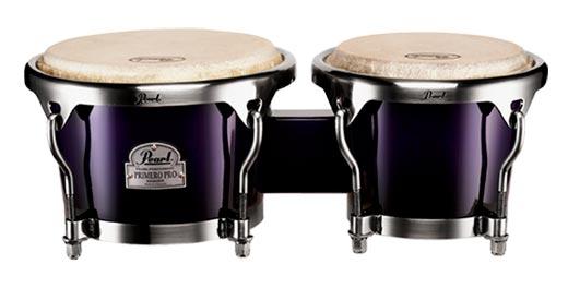 """Pearl Primero Pro Oak 7"""" und 8,5"""" Bongos, Midnight Fade"""
