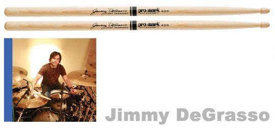 Promark TX409W Jimmy Degrasso Signature Drumsticks