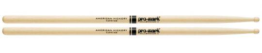 Promark 7A Pro-Roundtip Drumsticks Hickory