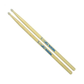 Regal Tip 5A E Series Hickory Drumsticks, Nylon