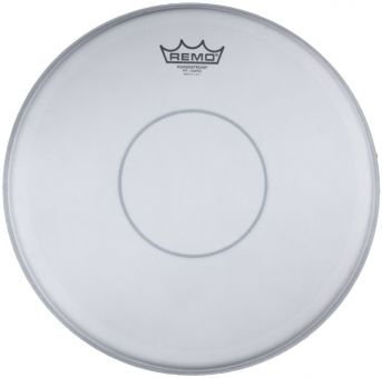 "Remo 14"" Powerstroke 77 weiss coated Snare Fell"