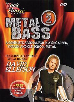 DVD David Ellefson - Metal Bass Level 2