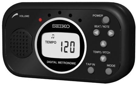 Seiko Metronom mit Tap Funktion DM-100