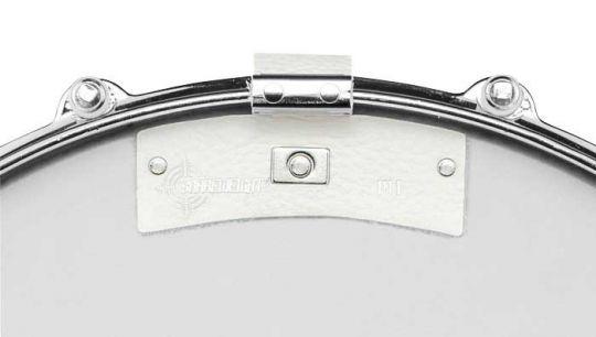 Snareweight M1w Leder Snare Dämpfer, weiss