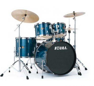 Tama Rhythm Mate RM50YH6-HBL Drumset, Hairline Blue